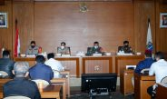 Komitmen Tekan Covid-19, Kapolres Jakpus Bersama Forkopimda dan Ulama Gelar Paparan Kampung Tangguh Jaya