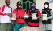 Dikunjungi ACT Lampung, Warga Terdampak Angin Puting Beliung di Mekar Sari Berupaya Hapus Trauma