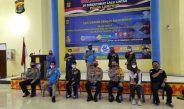Silaturahami Bersama Insan Media, Dirlantas Polda Lampung Berikan Sanksi Tegas Pemudik Bandel
