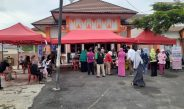 Sukseskan Program Pemerintah Percepatan Vaksinasi Covid-19, Polda Lampung Gelar Suntik Vaksin Covid-19