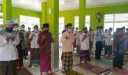 Puluhan WBP Lapas Kota Agung Gelar Sholat Ghoib Bagi Korban Kebakaran Lapas Tangerang