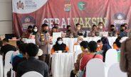 Percepat Program Vaksinasi, Polda Lampung Gelar Vaksinasi Merdeka di Graha Wangsa